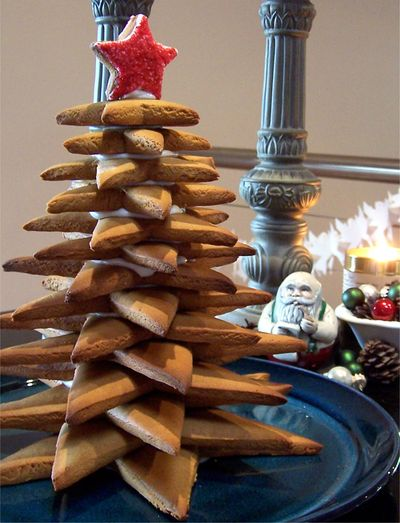 Gingerbread Christmas tree 6