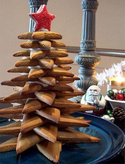 Gingerbread Christmas tree 6