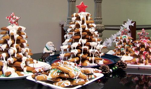 Gingerbread Christmas tree 10