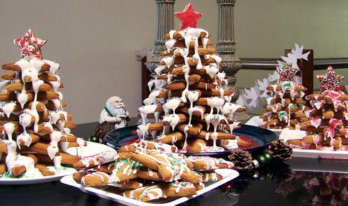 Gingerbread Christmas tree 10
