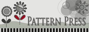 Pattern press logo