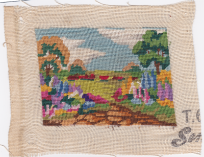 Needlepoint treasure