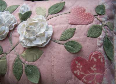 One Day In May As Roses Bloom ~ Cushion3