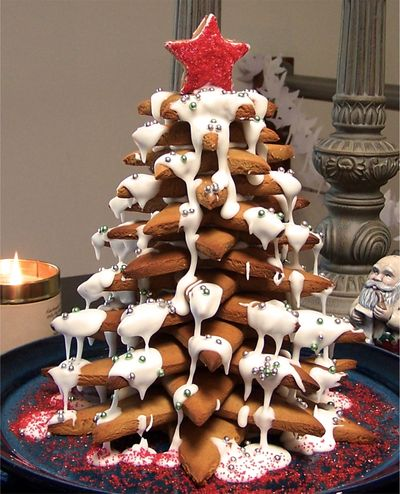 Gingerbread Christmas tree 8