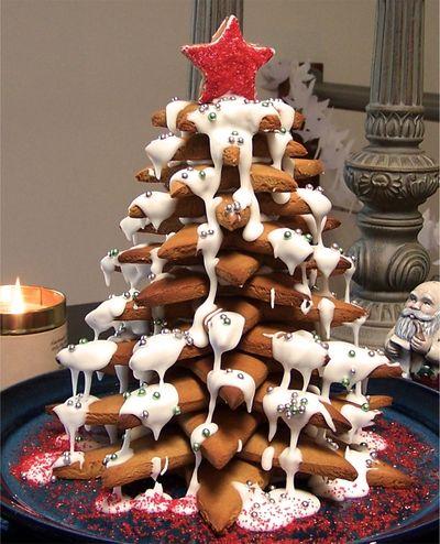 Gingerbread Christmas tree 8