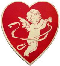 Valentine's cherub