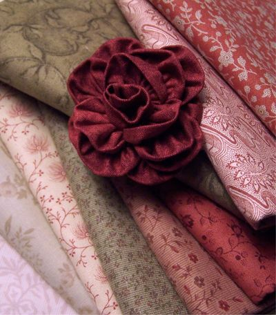 As Roses Bloom Fabric Selection One Day In May