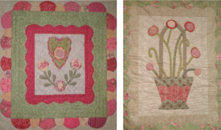 Quilts for Silent Auction at Mrs Martin's Quilt Shop