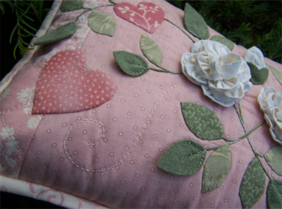 One Day In May As Roses Bloom ~ Cushion2
