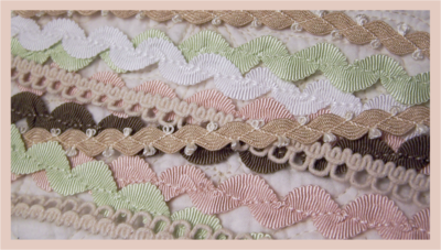 Craft Queen Trims - stitched ric rac