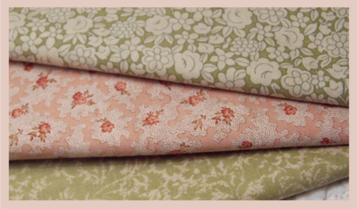 Fabrics from Quilters Barn