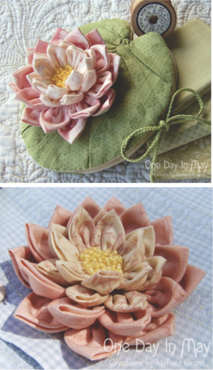 Waterlily Dreaming patterns One Day In May, Creations by Melissa Grant