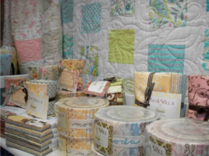 Blueberries stand H42 Craft and Quilt Fair Darling Harbour Sydney 2011 - 9