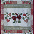 As Roses Bloom ~ Quilt - One Day In May, Creations by Melissa Grant