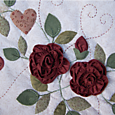 3-dimensional roses ~ As Roses Bloom - One Day In May Creations by Melissa Grant
