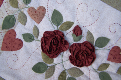 3 dimensional roses ~ As Roses Bloom - One Day In May Creations by Melissa Grant