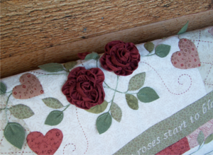 3 dimensional roses ~ As Roses Bloom 2 - One Day In May Creations by Melissa Grant