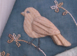 Bird applique One Day In May