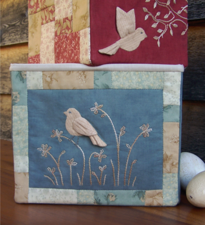 Birds Of The Meadow 2 ~ Fabric Storage Boxes - One Day In May