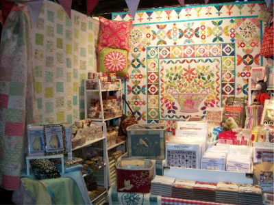 Blueberries stand H42 Craft and Quilt Fair Darling Harbour Sydney 2011 - 2