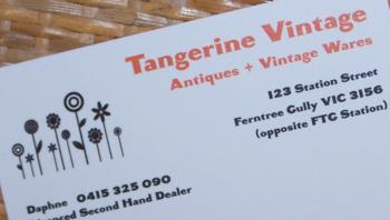 Tangerine vintage 2