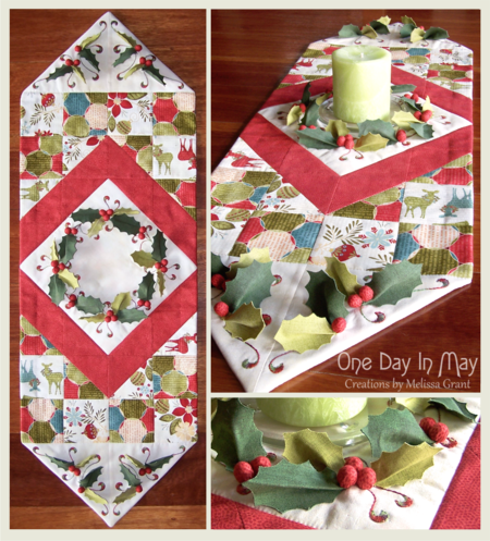 Deck The Halls ~ Table Runner combination