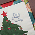 O' Christmas Tree flying bird 1
