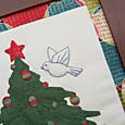 O' Christmas Tree flying bird 1