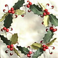 Deck the Halls Table Runner ~ central panel