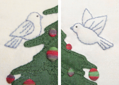 O' Christmas Tree birds One Day In May