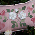 One Day In May - As Roses Bloom ~ Cushion