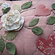 One Day In May As Roses Bloom ~ Cushion