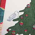 O' Christmas Tree sitting bird 1