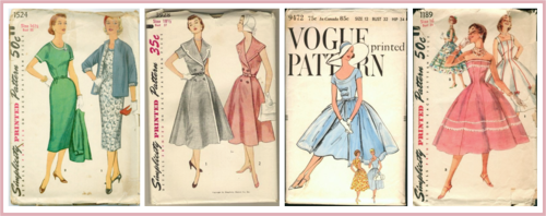 1950's sewing patterns