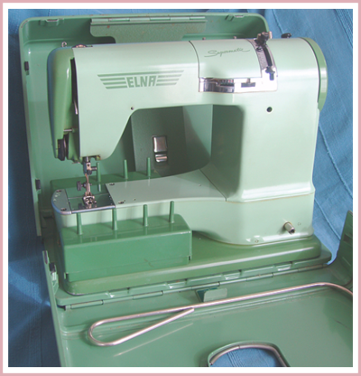 1950s Elna sewing machine