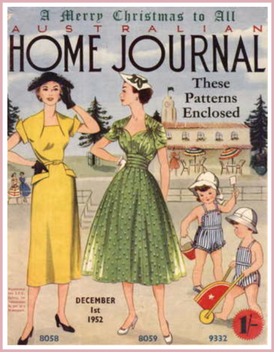 1950s Home Journal Cover