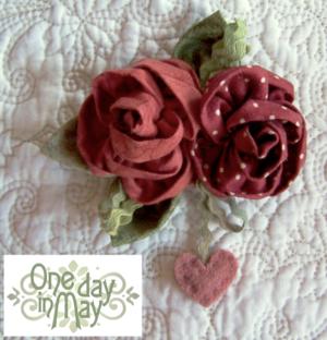 Sweet Roses ~ Brooch CH wkend