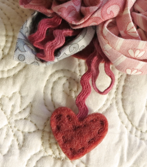 Sweet Roses ~ in LIB fabrics One Day In May