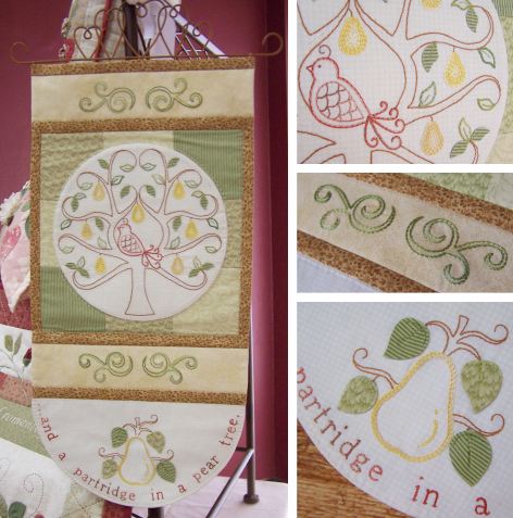 In a Pear Tree project ~ One Day In May