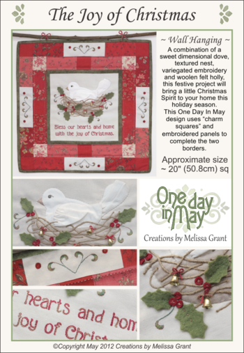The Joy of Christmas  ~ pattern cover