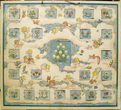 Vintage advent calendar 2