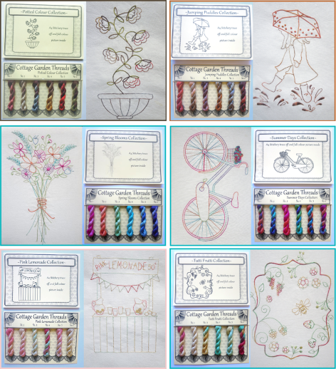Cottage Garden Threads Colour Collections