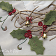 The Joy of Christmas ~ nest closeup