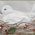 The Joy of Christmas ~ bird closeup