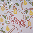 In a Pear Tree - central panel 1