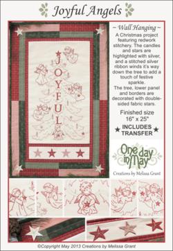 Joyful Angels pattern cover