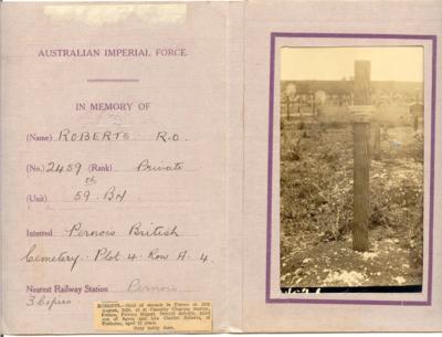 Rupert burial