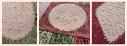 Faux Doilies ~ One Day In May